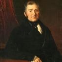 Илья Иванович Глазунов, отец Ивана Ильича, портрет кисти И. Ф. Хруцкого