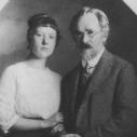 В. В. Розанов с дочерью Верой