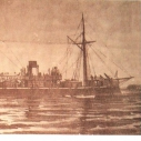 Броненосный фрегат ,,Адмирал Грейг'' которым командовал Иван Фёдорович Повалишин