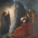 Д.Н. Мартынов, ,,Аэндорская волшебница вызывает тень пророка Самуила''