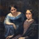 Д.Н.Мартынов, ,,Портрет двух девушек''
