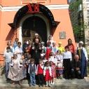 Праздник Пасхи в детской воскресной школе 2013г