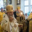 Митрополит Варсонофий возглавил Всенощное бдение в нашем храме!